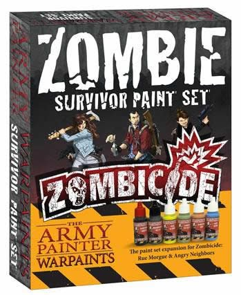Zombicide Zombie Survivor Paint Set by The Army