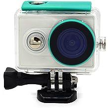 First2savvv XM-FSK-06 Carcasa Recubrimiento Protectora Prueba Agua para Cámara Xiaomi Yi Action verde