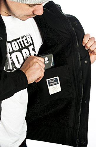 Vintage Industries Axel Veste Jacket Black Noir