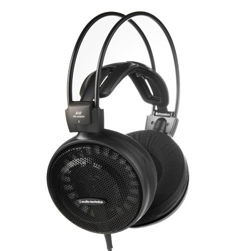 Audio-Technica ATH-AD500X Open Back Cuffie Dinamici, Nero