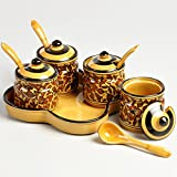 Cultural Concepts Heritage Pickle Set - Set of 4 jars
