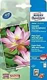 Avery Zweckform C2553-40 Premium Inkjet Fotopapier (10x15, einseitig beschichtet, hochglänzend, 300 g/m²) 40 Blatt
