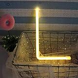 Justdolife LED Neonlicht Alphabet Buchstabe Zeichen Neonnachtlicht Wand Dekor für Hauptferien