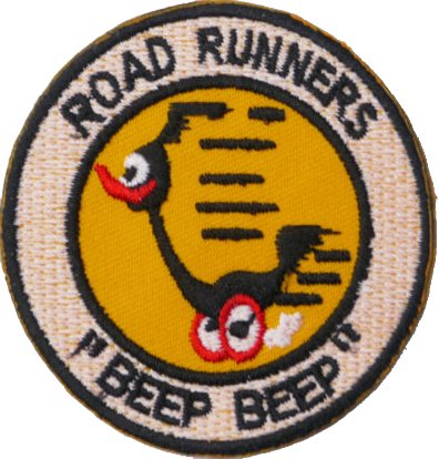 road-runners-embroidered-badge-patch-iron-or-sew-on-6cm-x-6cm