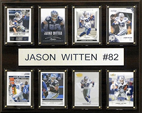 C & I Collectables NFL Dallas Cowboys Jason Witten gefaltet Plaque, 12 x 15 Zoll