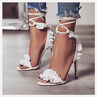 LGK&FA Schuhe Mit Hohen Absätzen High Heel Schuhe Weiß 35