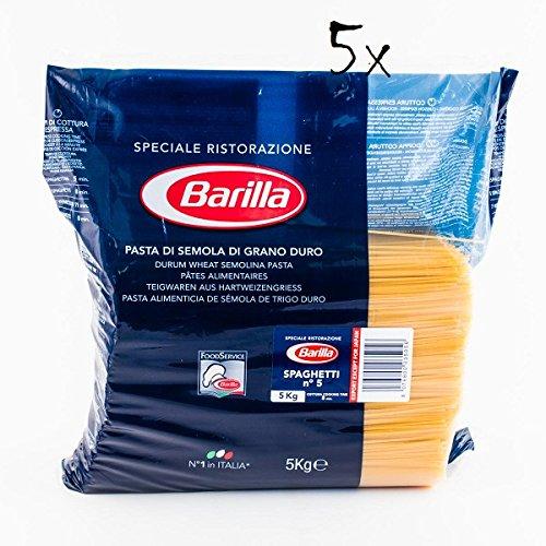 Barilla 5X Spaghetti Restaurant Catering Professional
