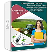 EntranceIndia ICAR Stream B 2019 Chemistry Achievers with Chemistry Model Papers (Pen Drive)