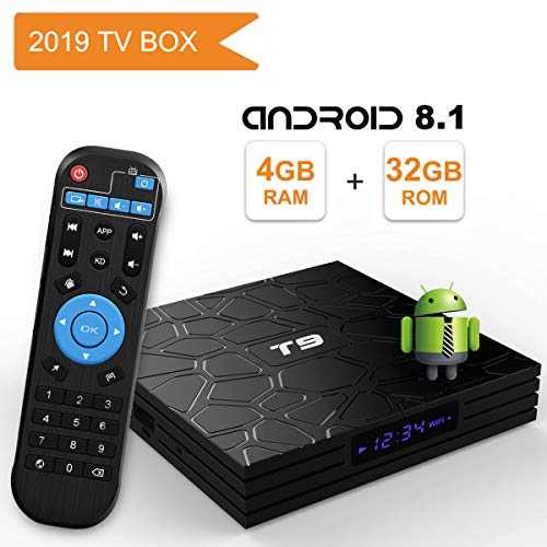 Android 8.1 TV BOX, Android Box con...