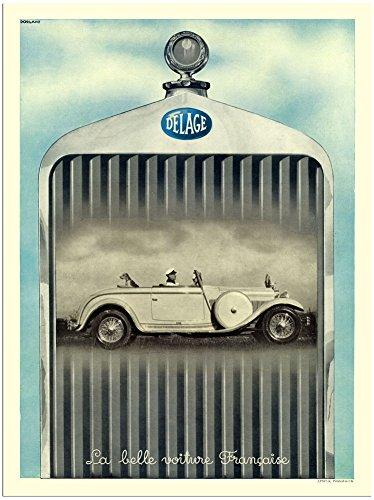 delage-french-car-advert-1930s-30x40cm-art-print