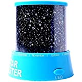 Innoo Tech Star Beauty Light Projector LED Night Light LED Lamp Projector(Red, Blue Appearance Assorted, With USB Cable)