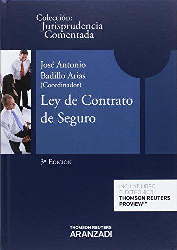 Portada del libro Ley de Contrato de Seguro: Jurisprudencia Comentada (Papel + e-book)
