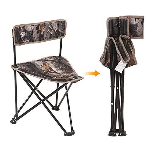 HHY-Z Taburete Plegable,Silla de Camping Plegable con Bolsa portátil Carga hasta 150 KG, Ideal para acambaca/Senderismo/Viaje/Caza/Pesca,A