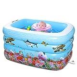 MOMO Badewanne Baby Schwimmbad Kinder Schwimmbad Aufblasbare verdickte Baby Baby Pool übergroßen Pool