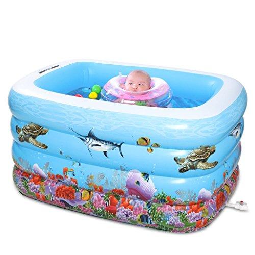 hwimmbad Kinder Schwimmbad Aufblasbare verdickte Baby Baby Pool übergroßen Pool (Baby-themen-essen)