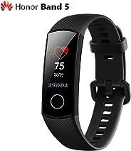 Huawei Honor Band 5 Smart Wristband 0.95'' Color AMOLED Screen Blood Oxygen Fitness Tracker 50M Waterproof Bracelet Pedomete
