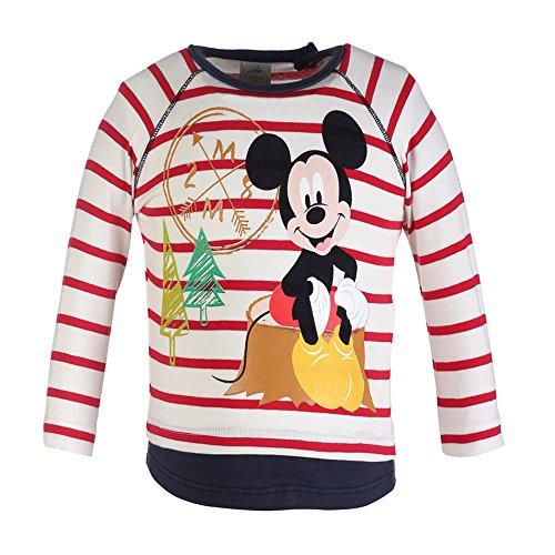 Disney-Classics Baby-Jungen Langarmshirt 70449, Mehrfarbig (Rot/Ecru 931), 74 Preisvergleich