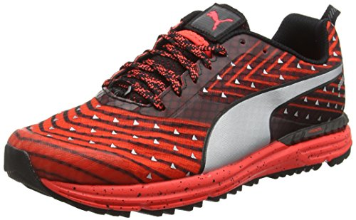 Puma Speed300igntrf6, Scarpe Sportive Indoor Unisex – Adulto Rosso (RED/BLK/SIL 01RED/BLK/SIL 01)