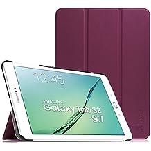 Fintie Samsung Galaxy Tab S2 9.7 Funda - Ultra Slim Smart Case Funda Carcasa con Stand Función y Auto-Sueño / Estelar para Samsung Galaxy Tab S2 9.7 pulgadas SM-T810N SM-T815 (Purpura)