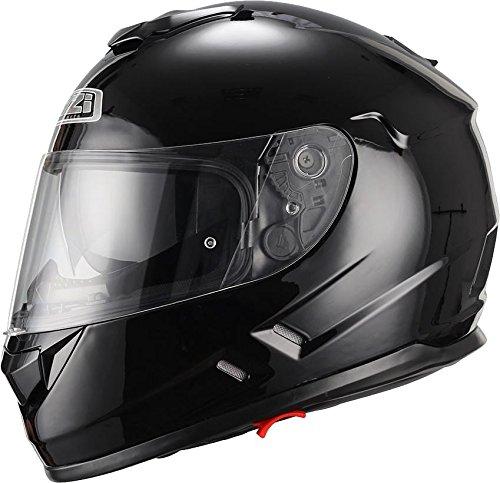 Casco de moto integral NZI Symbio negro L