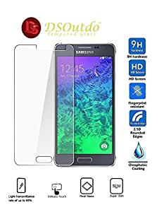 DSOutdo® DSOutdo Samsung Galaxy J5 (2015) High Quality Premium Tempered glass Screen Protector - 9H Hardness, Anti scratch, Anti Explosion, Ultra Clear Screen Guard, Shatterproof, Anti-Scratch, Bubble-free, Oleo phobic Coating, 2.5D Round Edge, 0.33mm Thickness