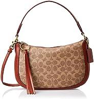 Coach Handbag for Women- Rust
