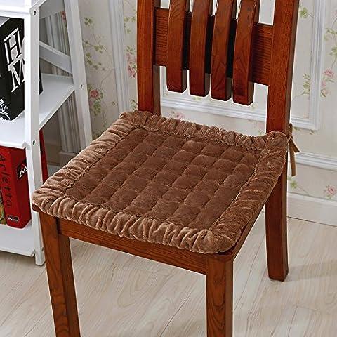 EFRC Slip rembourré chaise de bureau coussin coussin de peluche