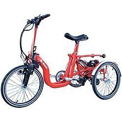Di Blasi R-34 triciclo eléctrico plegable (rojo)