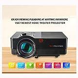 Projecteur à LED Maison HD 1080P 180 Pouces Grand écran Configuration du Gamepad de...