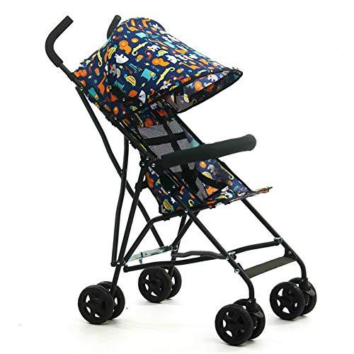 Kinderwagen Taschenschirm Ultra Light Portable Small Voll Markise Kinderwagen Kinderwagen Kinderwagen Blau