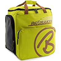 BRUBAKER 'Super Champion 2.0' Bolso Para Deporte - Mochila Porta Botas De Esquí - Luz verde / Gris