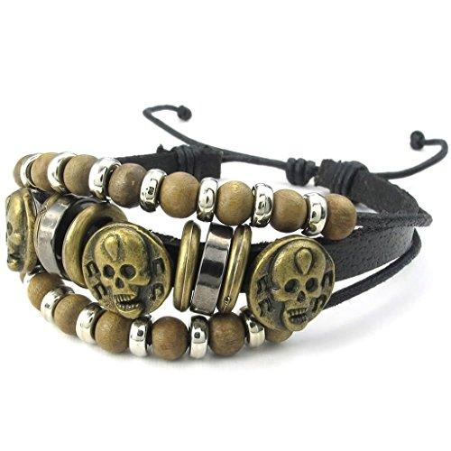 beydodo-18k-vergoldet-armband-gliederarmband-schwarz-lange-8-in-fur-herren-damen