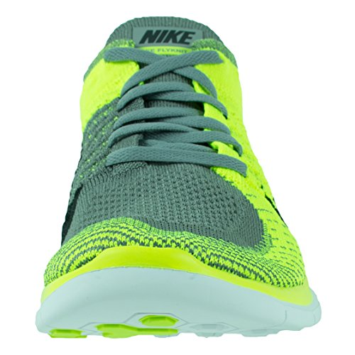Nike Free Flyknit 4.0, Chaussures de running homme Giallo (giallo)