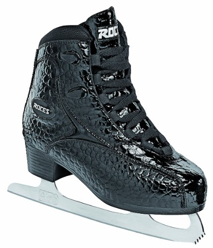 Roces Patins A Glace Rfg Glamour Alligator Pour Femme Noir