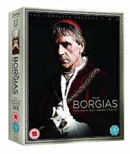 The Borgias - Season 1-2 [Blu-ray] [Import anglais]