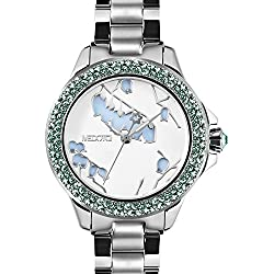 MEDOTA Saison Women's Studded Automatic Water Resistant Analog Quartz Watch - No. 9401 (Pieris)