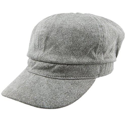 Shanxing Unisex Schirmmütze Newsboy Cap Gatsby Barett Kappe Hut (Hut Newsboy Wildleder)