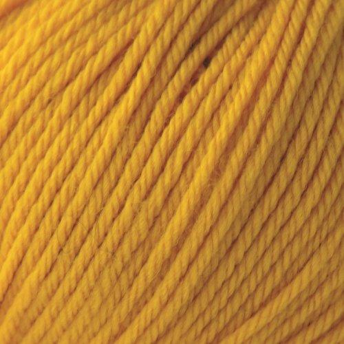 ROWAN Pure Wool Dk - Farbe: Gold (00051) - 50 g / ca. 130 m Wolle (Rowan Wool Dk-garn Pure)