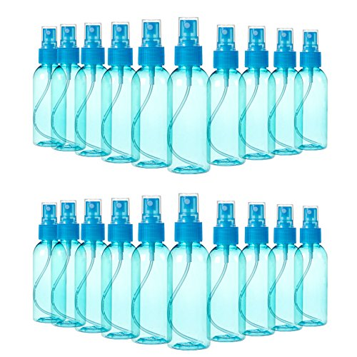 Juvale mist mini bottiglie spray con nebulizzatore da pompe Confezione da pezzi colori assortiti 80ml 20 Piece Scarpette strappo Voltaic 3
