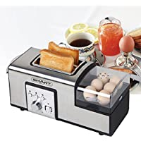 Smart Breakfast Master Toaster (Silver)