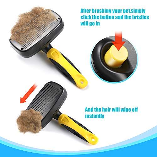 Zoom IMG-2 spazzola autopulente per cani gatti