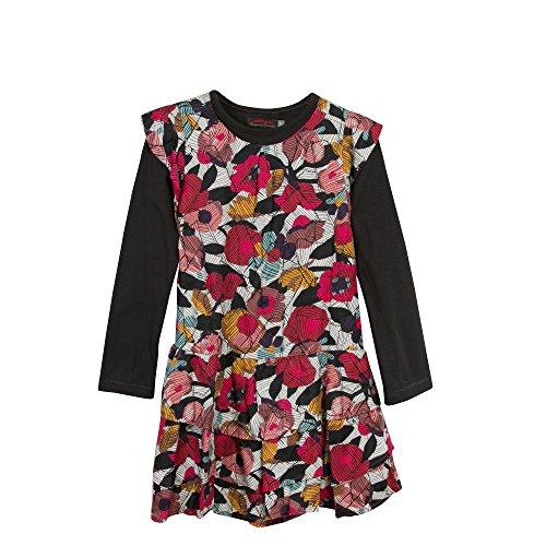Catimini Robe Imp+Tee Sh, Vestido para Niños Catimini