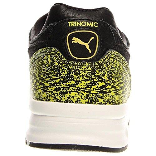 Puma Xt2 + neige Splatter Round Pack Sneakers Toe en cuir Black