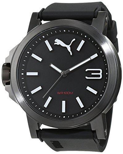 PUMA Womens Quartz Watch, Analogue Classic Display and PU Strap PU103462019