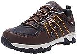 Zapatillas de Seguridad Hombre, LM-18 Zapatos de Seguridad Antideslizantes con Punta de Acero Antipinchazos Calzados de Trabajo(42 EU,Marrón)