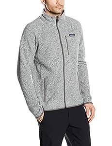 Patagonia Better Sweater Herren-Fleecejacke XS Stonewash
