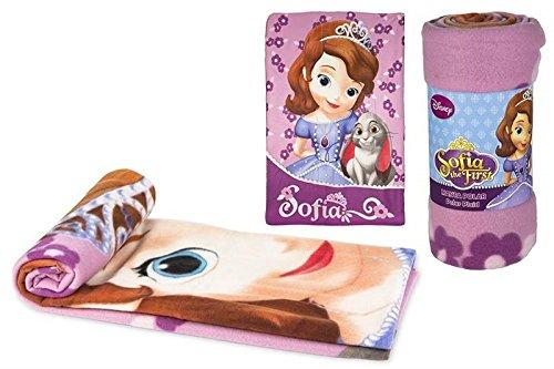 Colorbaby, 76575, Manta Disney Princesa sofia 100X150 cm 180Grs