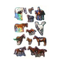 Horse & Pony Stickers - Kids / Childrens Labels for party bags , scrap books , card making or notebook decoration