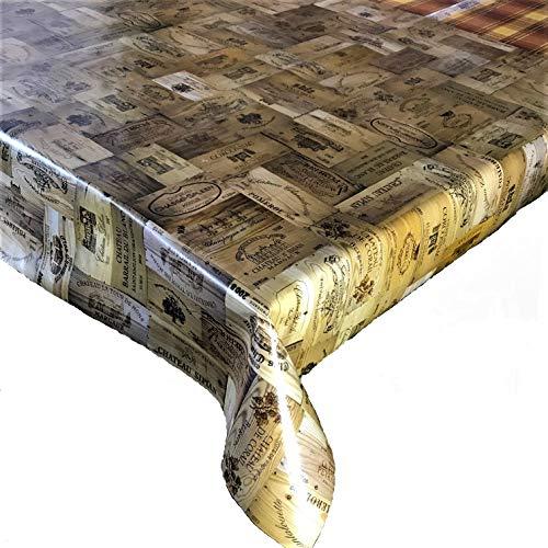 Mantel vinilo PVC efecto madera vinilo, 2,5 metros