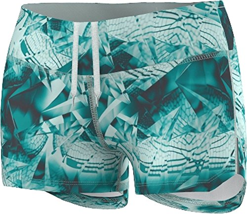 adidas Damen Running Supernova Booty Shorts mit Dampf, Grün -